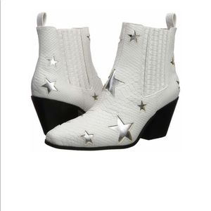 White Star Booties by Betsy Johnson